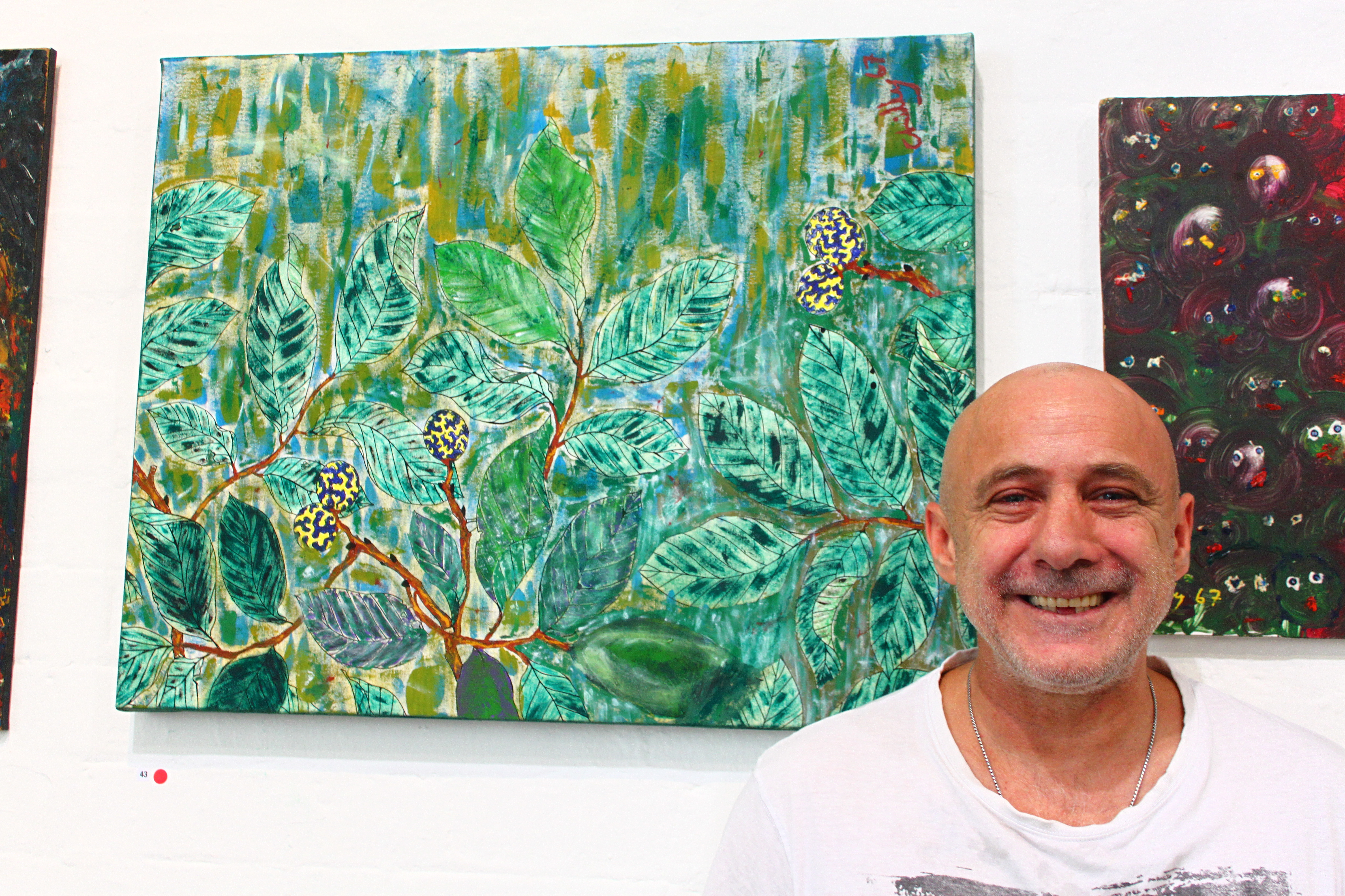 Danny Chilcott picked up a paint brush almost by accident, but its paying dividends. PIC: Supplied
