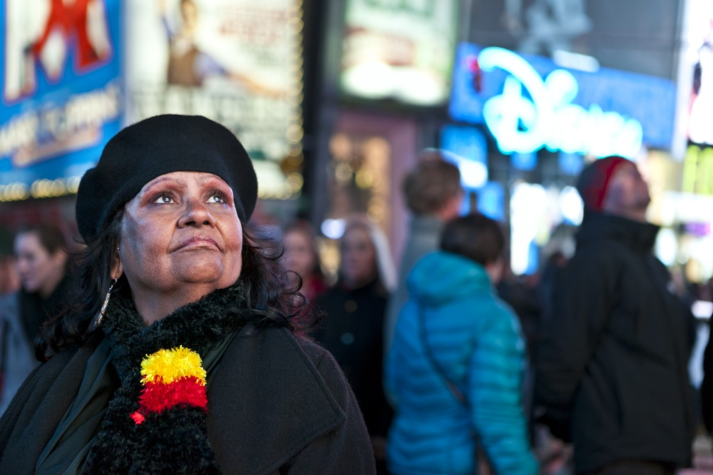 Marlene Cummins; in New York for an international gathering of Black Panther alumni. PIC: Supplied