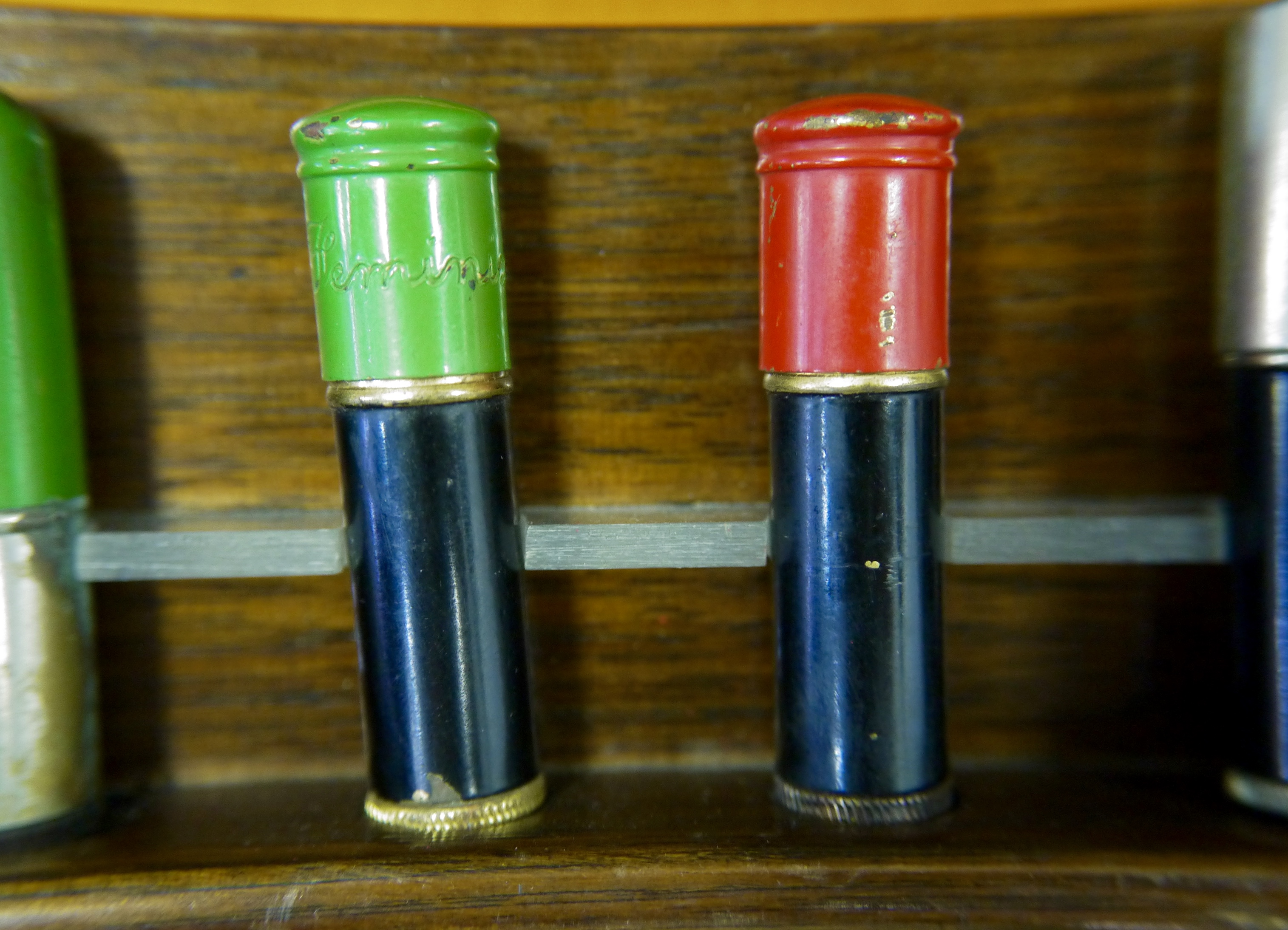 A shared history: between the wars, bullet cartridges were refashioned in munitions factories.
